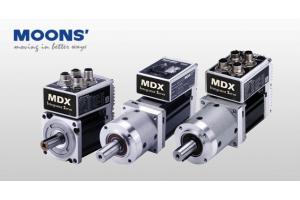 Kompaktowe serwosilniki zintegrowane MDX marki MOONS'