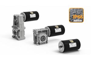Silniki szczotkowe marki TRANSTECNO o stopniu ochrony IP66